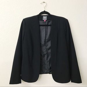 Vince Camuto Collarless Open Front Blazer